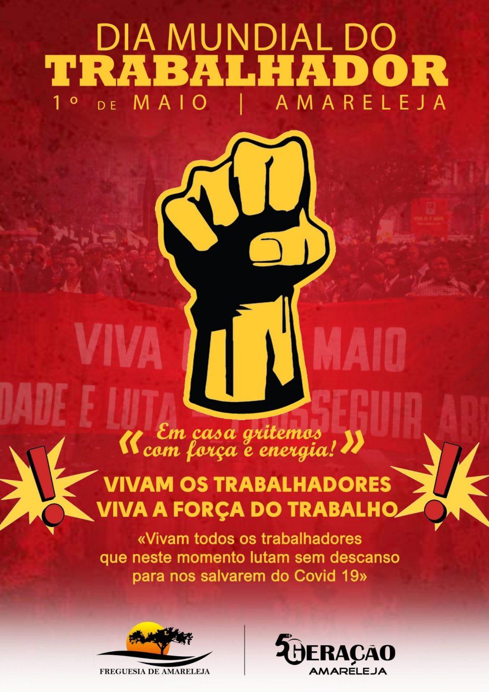 1º Maio - Dia Mundial do Trabalhador - Junta de Freguesia ...