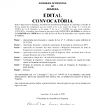 Assembleia de Freguesia NÃO PÚBLICA de 26/06/2020